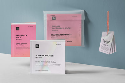 Psd Product Manual Mockup