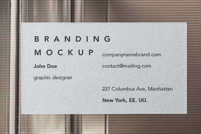 Psd Business Card Branding Mockup