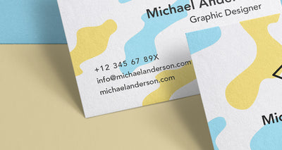Clean and Professional set of Psd Business Card Mockups
