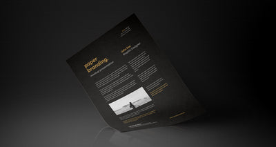 A4 Psd Paper Mock-Up