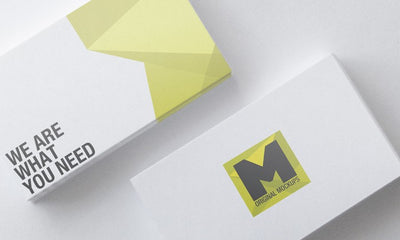 Empty Business Card Mockups