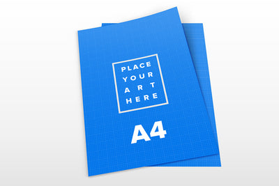 Set of Clean A4 Paper Mockups