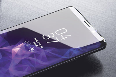 Perfect Galaxy S9 Plus Smartphone Mockup