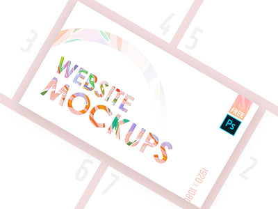 High Quality Web PSD Mockup Bundle