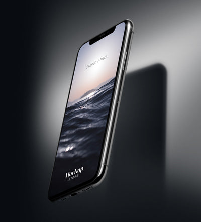 iPhone 11 Pro Device PSD Mockup