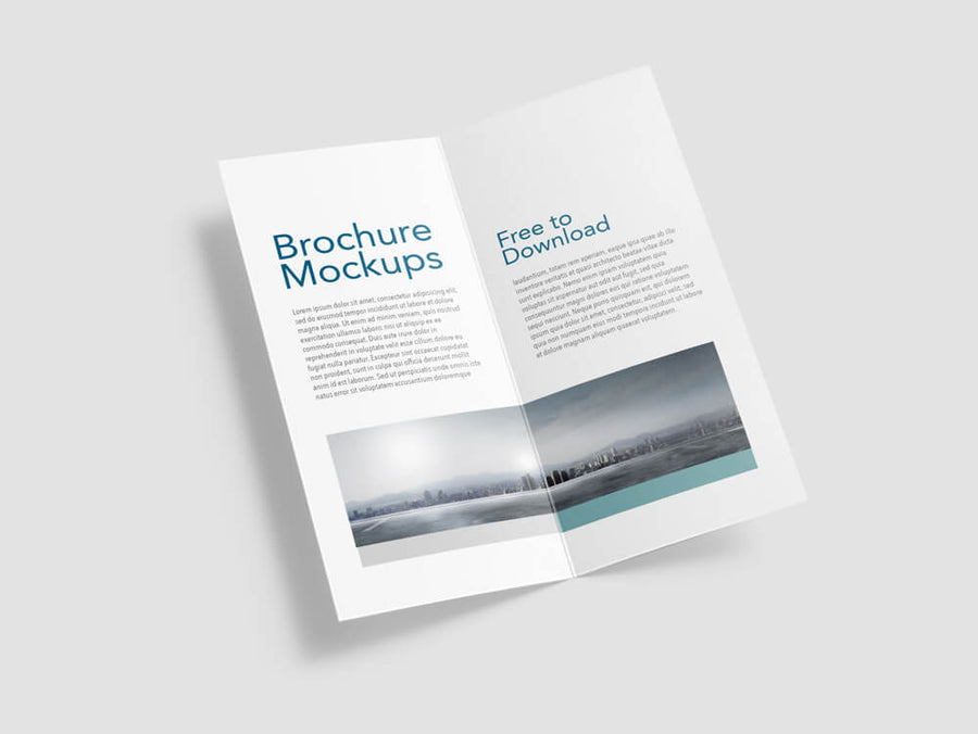 Free Brochures Mockups | Free Psd Mockup Templates Page 2