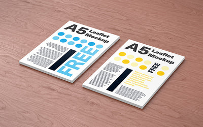 3 Mockup of Perfect Clean Leaflet