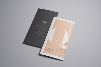 Massive Set of Advanced Trifold Brochure Mockups