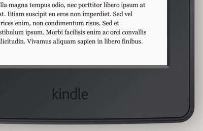 Amazon Kindle Paperwhite Mockup