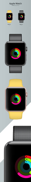 Apple Watch Series 2 Mockup Front View