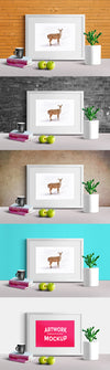 Artwork Presentation Frame Scene Mockup