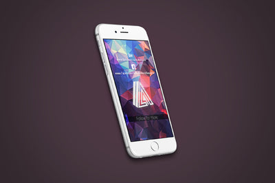 7 x White PSD iPhone Mockups