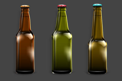 Beer Shape Bottle Mockup