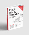 Set of 5 Clean and Whiet Book Mockups (Cover Included)