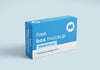 Pharmacy or Pill Box Package Mockup or 56x60x25 mm