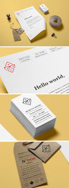 Stylish and Clean Stationery Branding MockUp