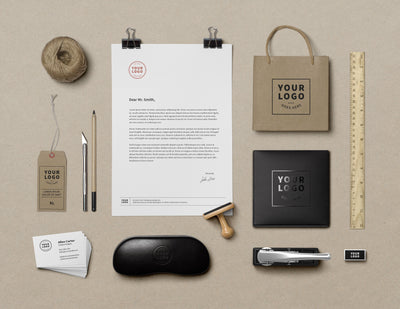 Big Set of Branding and Identity MockUps