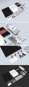 Set of Professional Branding and Stationery MockUp