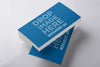 Business Card Stack PSD Mockup