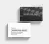 Big Collection of 6 Business Card Mockups 85x55 mm