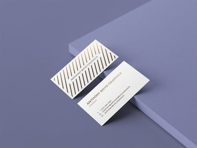 Business Cards Presentation Mockup