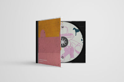 Clean CD Case PSD Mockup
