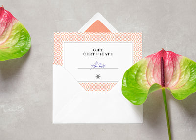 Clean Card and Envelope PSD MockUp