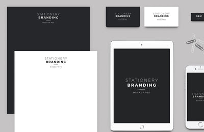 Clean Stationery Branding Pack (Mockup)