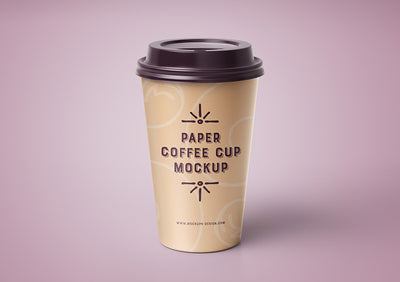 4 x Coffee Cup Mockups Including Various Angles