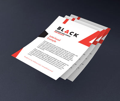 Dark Corporate Identity Mockup with Accessories