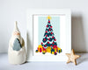 Christmas Frame Decoration Mockup