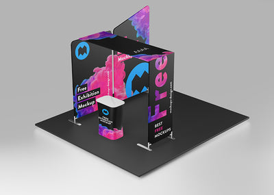 Exhibition Stage Mockup