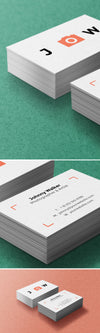 Close-Up Business Cards Mockups PSD