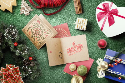 Christmas Mockup Scene Pack (+Greeting Card)