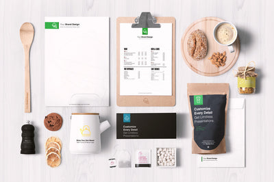 Coffee and Restaurant Items Mockup Pack