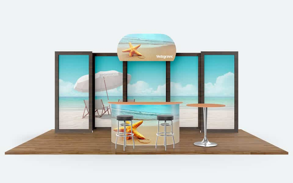 Tradeshow Booth Vector Style Mockups - Mockup Hunt