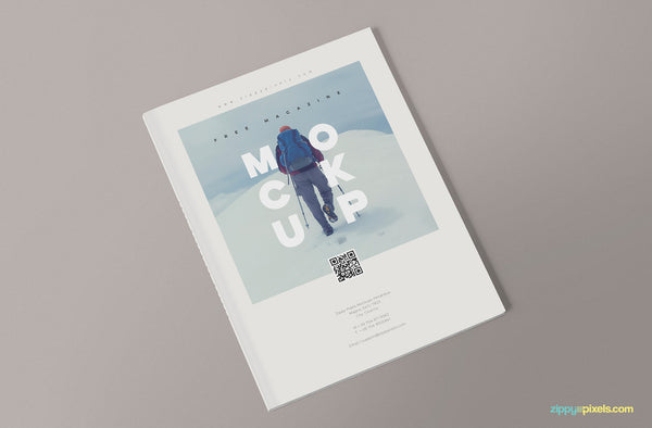 3 Magazine Mockup Design Templates - Mockup Hunt