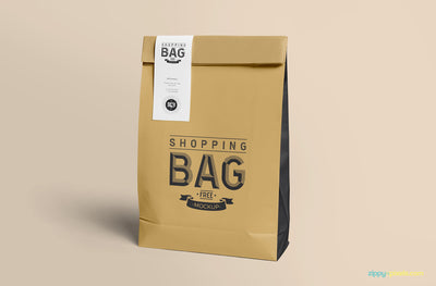 Awesome Paper Bag Mock Up