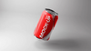 3D Soda Bottle Can Mockup PSD
