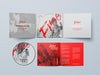 6-Panel Digipack Mockup CD/DVD Cover
