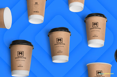 Awesome Coffee Cup Mockup