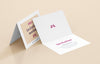 4 x White Invitation Card Mockups