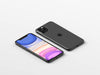 Isometric iPhone 11 Pro Max PSD Mockup