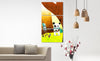 Living Room Frame Painting Psd Mockup
