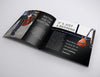 Black Square Brochure Mockup Set in 7 Angles
