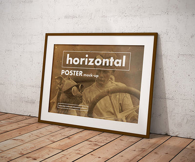 Vintage Poster Frame Mockup Collection