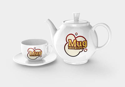 Collection of Mug Mockup Templates