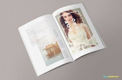 3 Magazine Mockup Design Templates