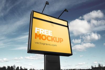 Clean Outdoor Sign Mockups