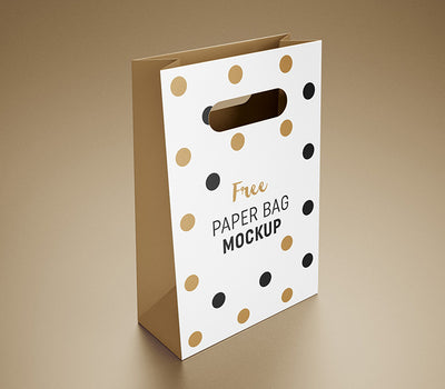 Celebration Shop Gift Bag Mockup